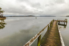 Free Dock In The Fog Royalty Free Stock Images - 50537529
