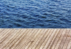 A Dock on the Lake Stock Images