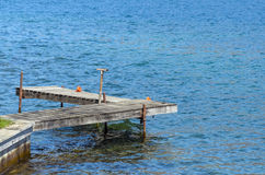 Dock in Lake Royalty Free Stock Photography