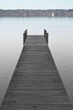 Dock on Lake Starnberger Stock Photos