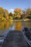 Dock on the Lake Royalty Free Stock Image