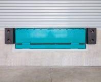 Dock leveler. And shutter door Stock Photography