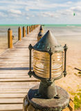 Dock light Stock Photography