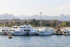 Dock marin Images libres de droits