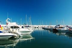 Dock Marina Marbella Spain Stockbilder