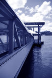 Dock at Mowbray Park Royalty Free Stock Photos