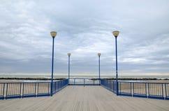A dock near the sea royalty free stock image