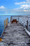 Dock Park in Marquette Michigan Royalty Free Stock Image