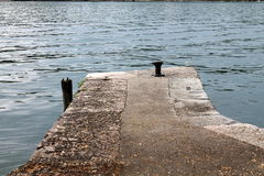 Dock on pier lakea. A dock on pier lake stock photography