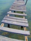 Dock planks Royalty Free Stock Photos