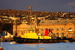 dock Plymouth énorme célèbre R-U photos libres de droits
