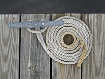 Dock Rope Stock Image