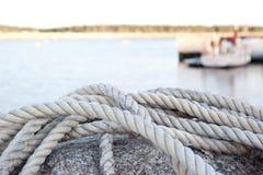 Dock rope Royalty Free Stock Photos