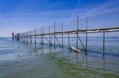 Dock at sea Royalty Free Stock Photo