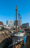 Dock sec de Liverpool Photo stock