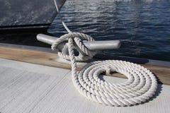 Dock-Seil Lizenzfreie Stockfotografie