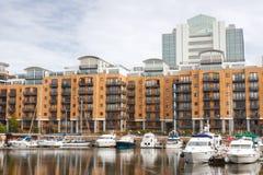 Dock Str.-Katharine. London, England Lizenzfreies Stockfoto