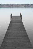 Dock sur le lac Starnberger Photos stock