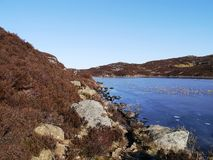 By Dock Tarn above Borrowdale, Lake District. Early spring on a cool crisp day by Dock Tarn royalty free stock images