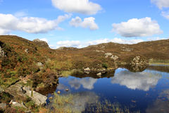 Dock tarn near Watendlath, Lake District, Cumbria. Stock Images