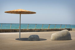 The dock in Tel Aviv Stock Image