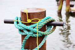 Dock Tie Stock Photo