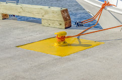 Dock Tie Stock Image