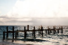 Dock to Nowhere Royalty Free Stock Photography