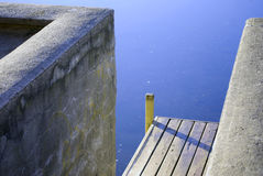 Dock view Royalty Free Stock Photos