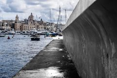 On the Dock Royalty Free Stock Photography
