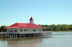 Dock von San Pedro Lizenzfreies Stockfoto
