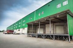 Dock warehouse Stock Photography