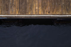 Dock and Water Royalty Free Stock Image