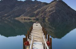 Dock At Willow Beach. Dock on the Colorado River at Willow Beach in the Arizona desert Stock Photos