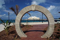 Dock-Yard, Bermuda Stockbilder