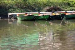 Dock on the Yarkon River Stock Photos