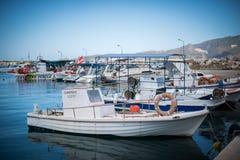 Dock on Zakynthos Stock Photography