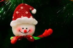 Docka för glad jul Fotografering för Bildbyråer