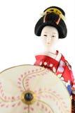dockakvinnlig japan Arkivbilder