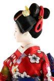 dockakvinnlig japan Royaltyfri Bild