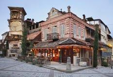 Dockateater i Tbilisi georgia arkivbilder