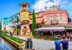 Dockateatern av Tbilisi Royaltyfri Bild