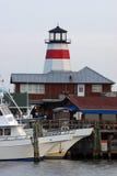 Docked. Boats docked at Johns Pass Madeira Beach Florida Stock Photo