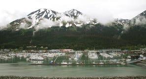 Docked in Alaska Stock Images