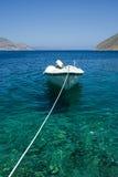 Docked boat Stock Image