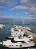 Docked boats Royalty Free Stock Photos