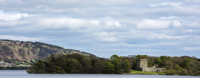 Lochleven Castle Stock Image