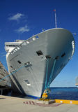 Docked Cruise ship Royalty Free Stock Photos