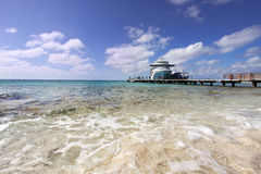 Docked at Grand Turk II Royalty Free Stock Images