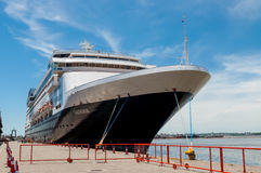 Docked in Montevideo port - Uruguay. Royalty Free Stock Photos